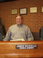 Council Member James Nickells